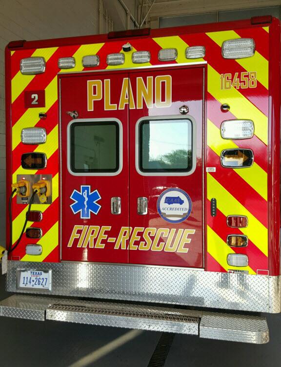 Photo courtesy of Plano Fire