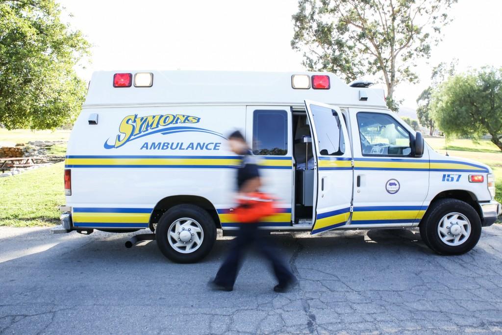 Photo Courtesy of Symons Ambulance